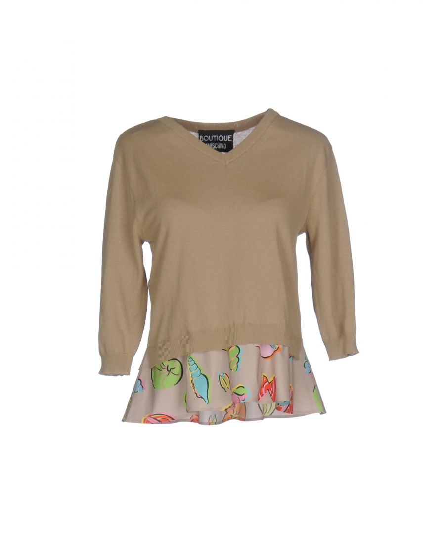 Image for Boutique Moschino Beige Cotton Jumper