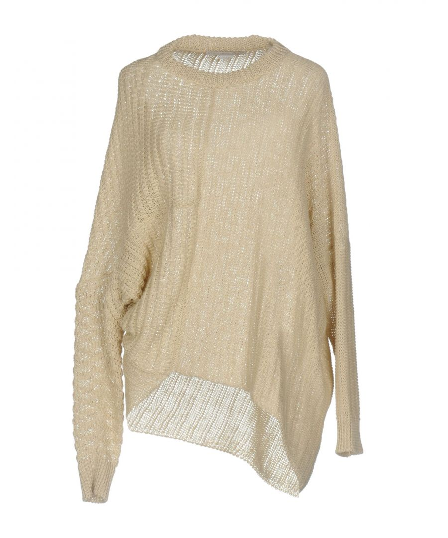 Image for Stella McCartney Beige Linen Knit Jumper