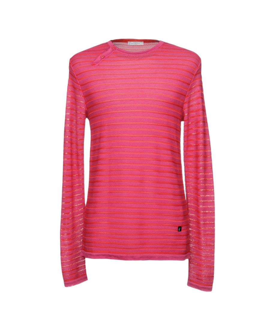 Image for Versace Collection Fuchsia Cotton Jumper