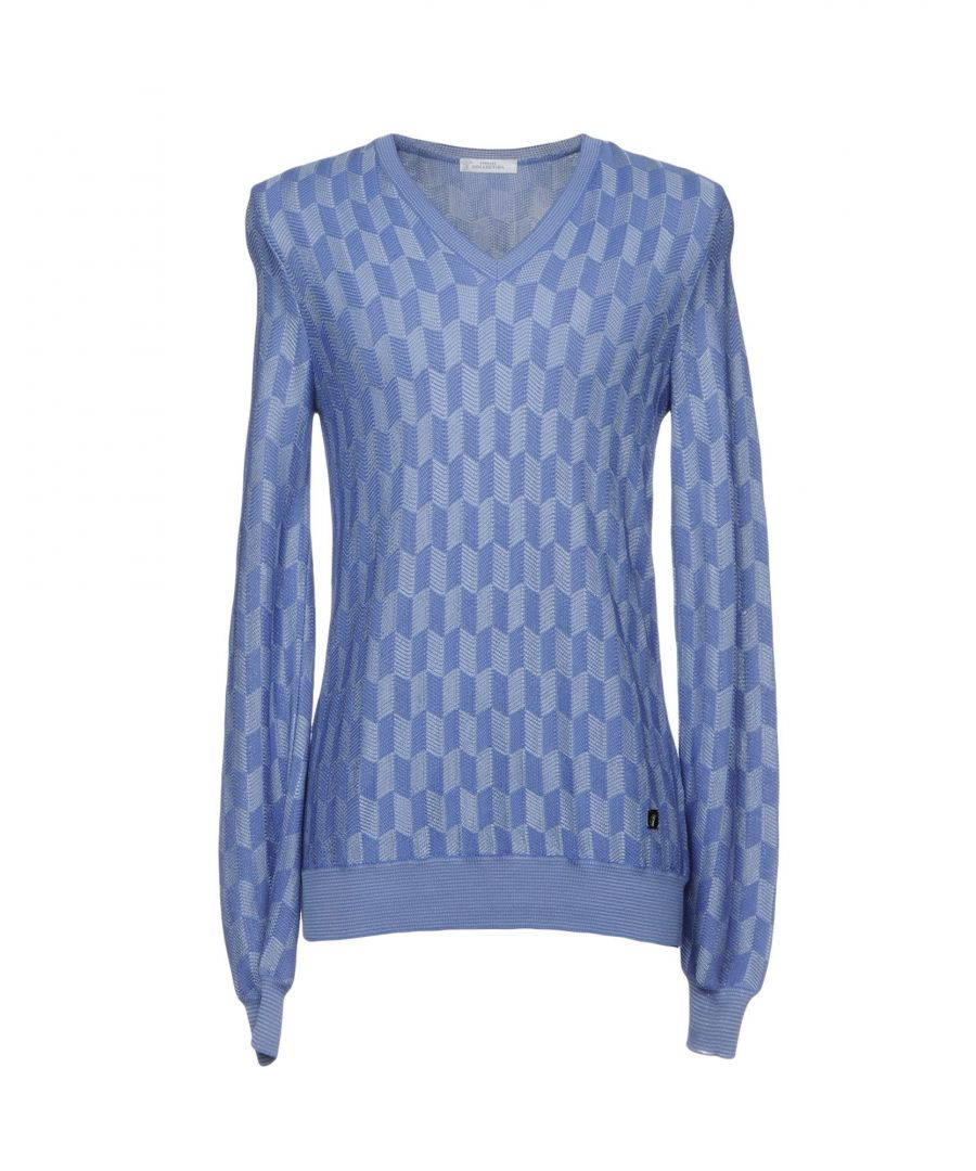 Image for Versace Collection Purple Cotton Jumper