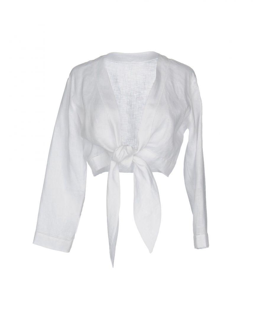 Image for KNITWEAR Lisa Marie Fernandez White Woman Linen
