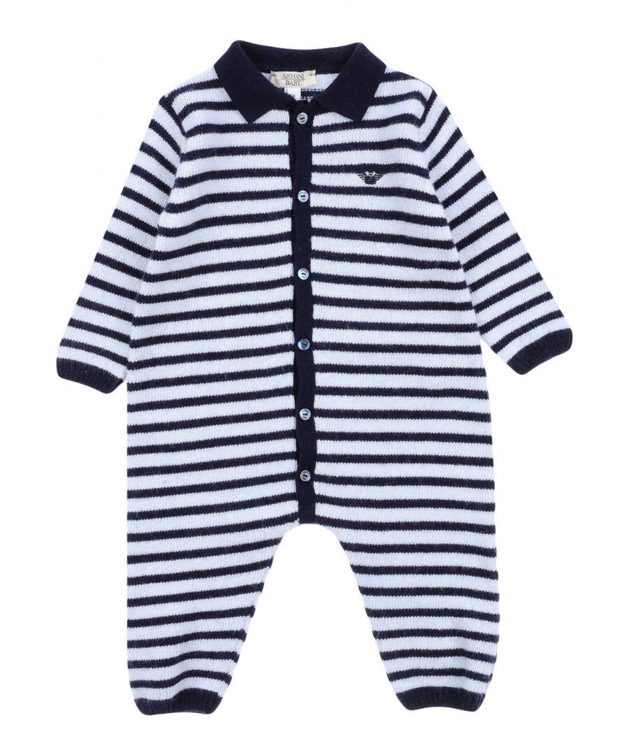 Image for BODYSUITS & SETS Armani Junior Dark blue Boy Wool