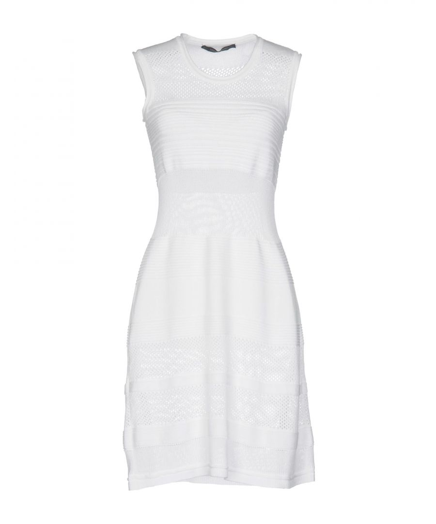 Image for Messagerie White Knit Dress