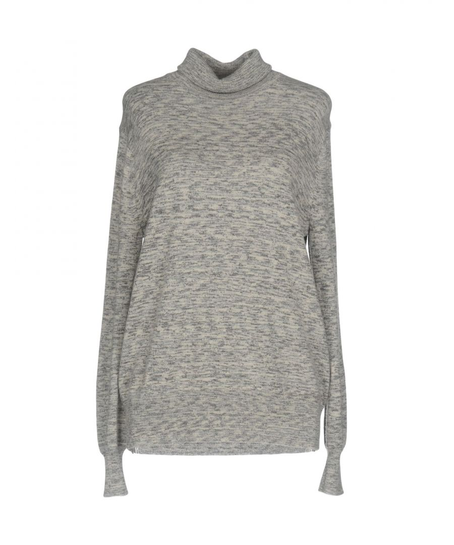 Image for Theory Grey Cashmere Knit Jumper