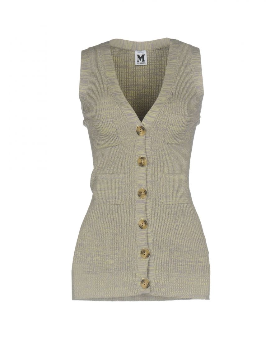 Image for M Missoni Grey Cotton Sleeveless Knit