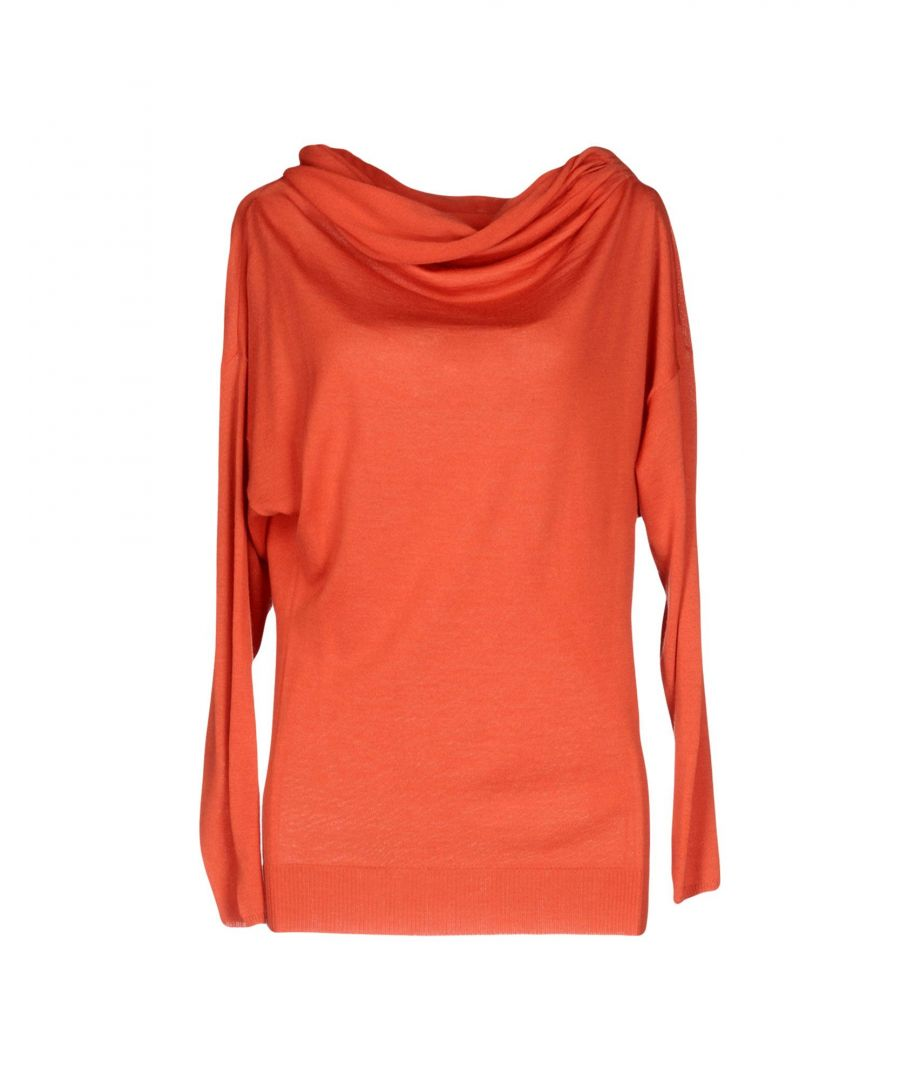 Image for M Missoni Coral Merino Wool Lightweight Knit Jumper