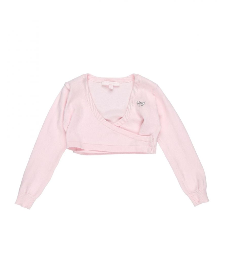 Image for KNITWEAR Silvian Heach Pink Girl Cotton