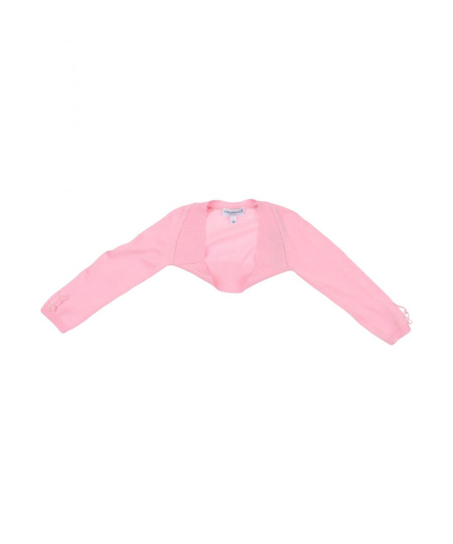 Image for KNITWEAR Simonetta Tiny Pink Girl Cotton
