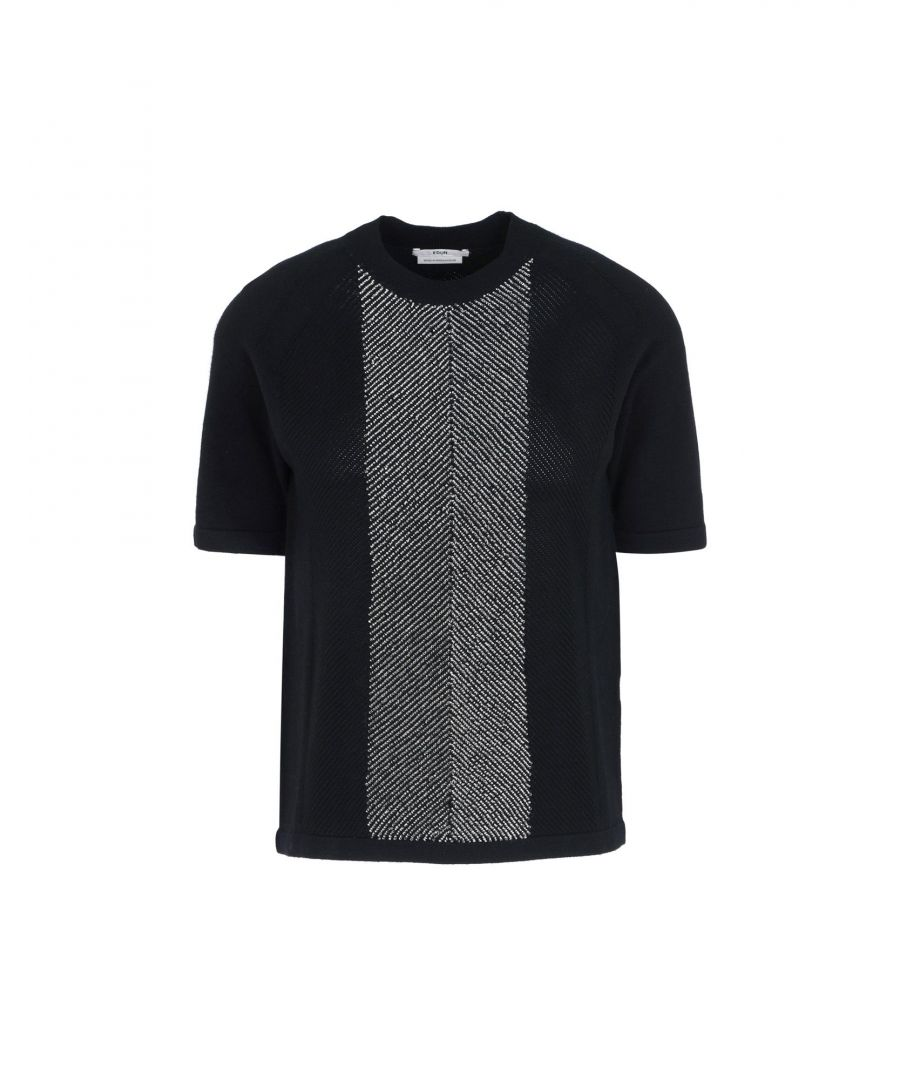 Image for Edun Black Knit T-Shirt
