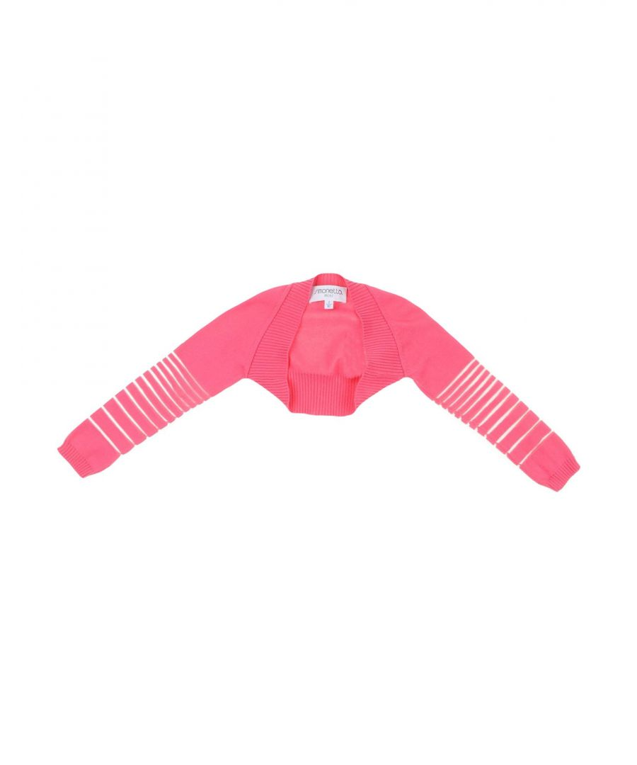 Image for KNITWEAR Simonetta Mini Fuchsia Girl Cotton