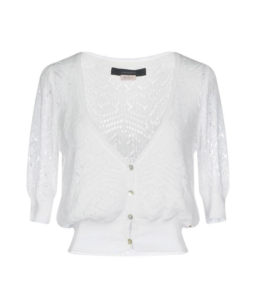 Image for Nenette Woman Wrap cardigans White Cotton