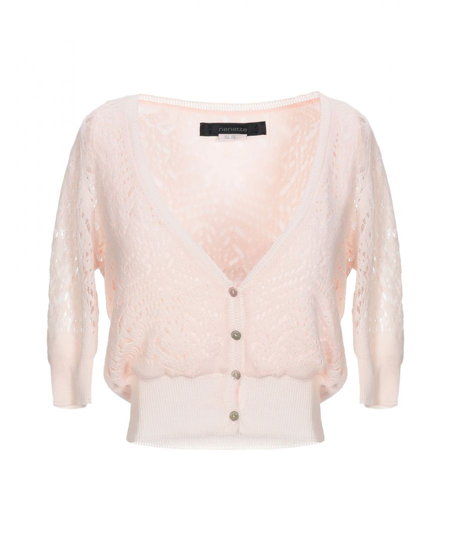 Image for Nenette Woman Wrap cardigans Light pink Cotton