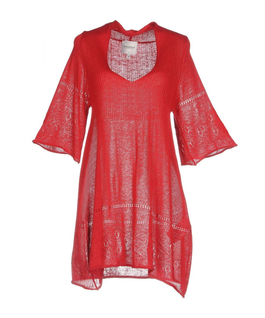 Image for Annarita N Twenty 4H Red Lightweight Knit Dress