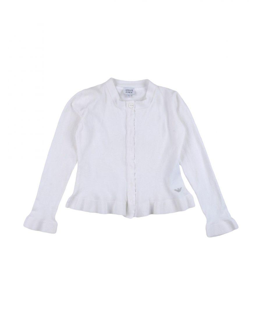 Image for KNITWEAR Armani Junior White Girl Cotton