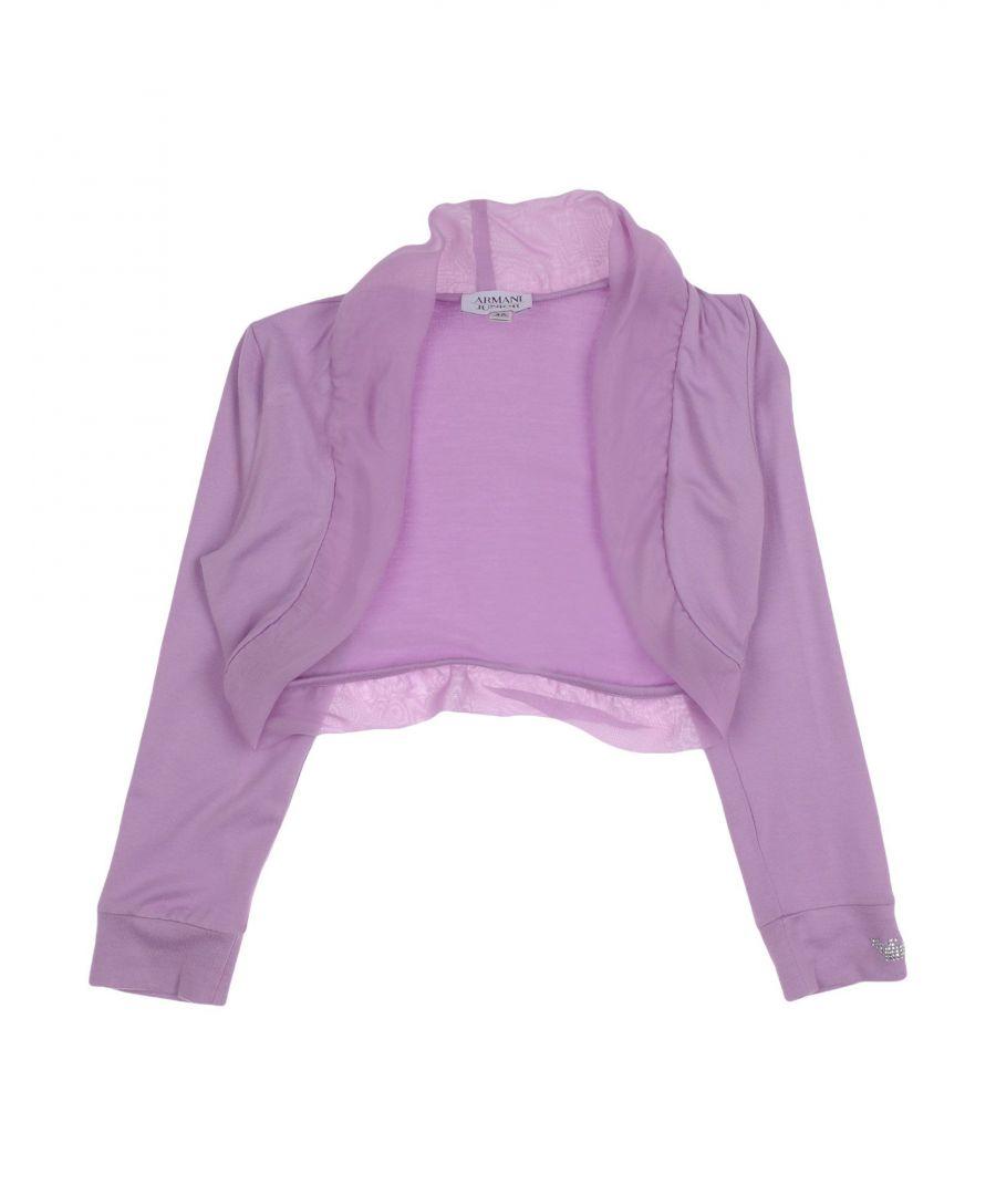 Image for KNITWEAR Armani Junior Lilac Girl Viscose