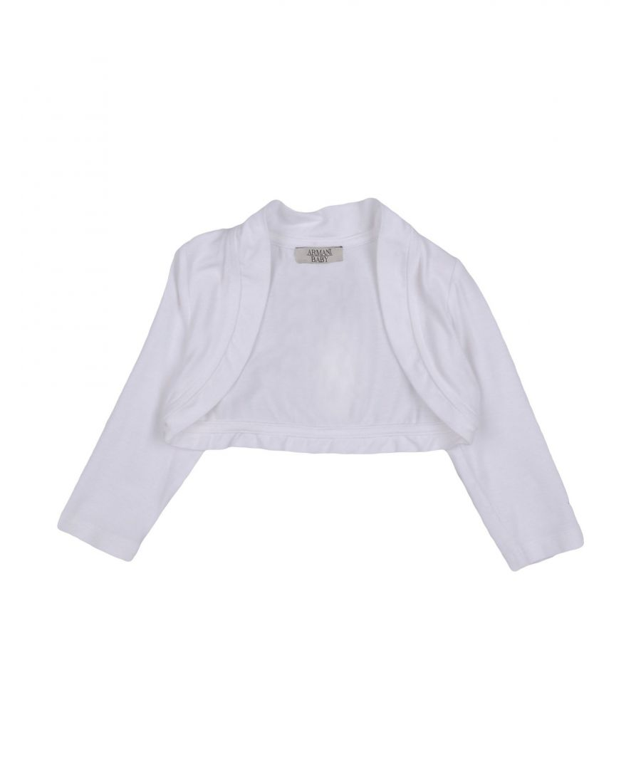 Image for KNITWEAR Armani Junior White Girl Viscose