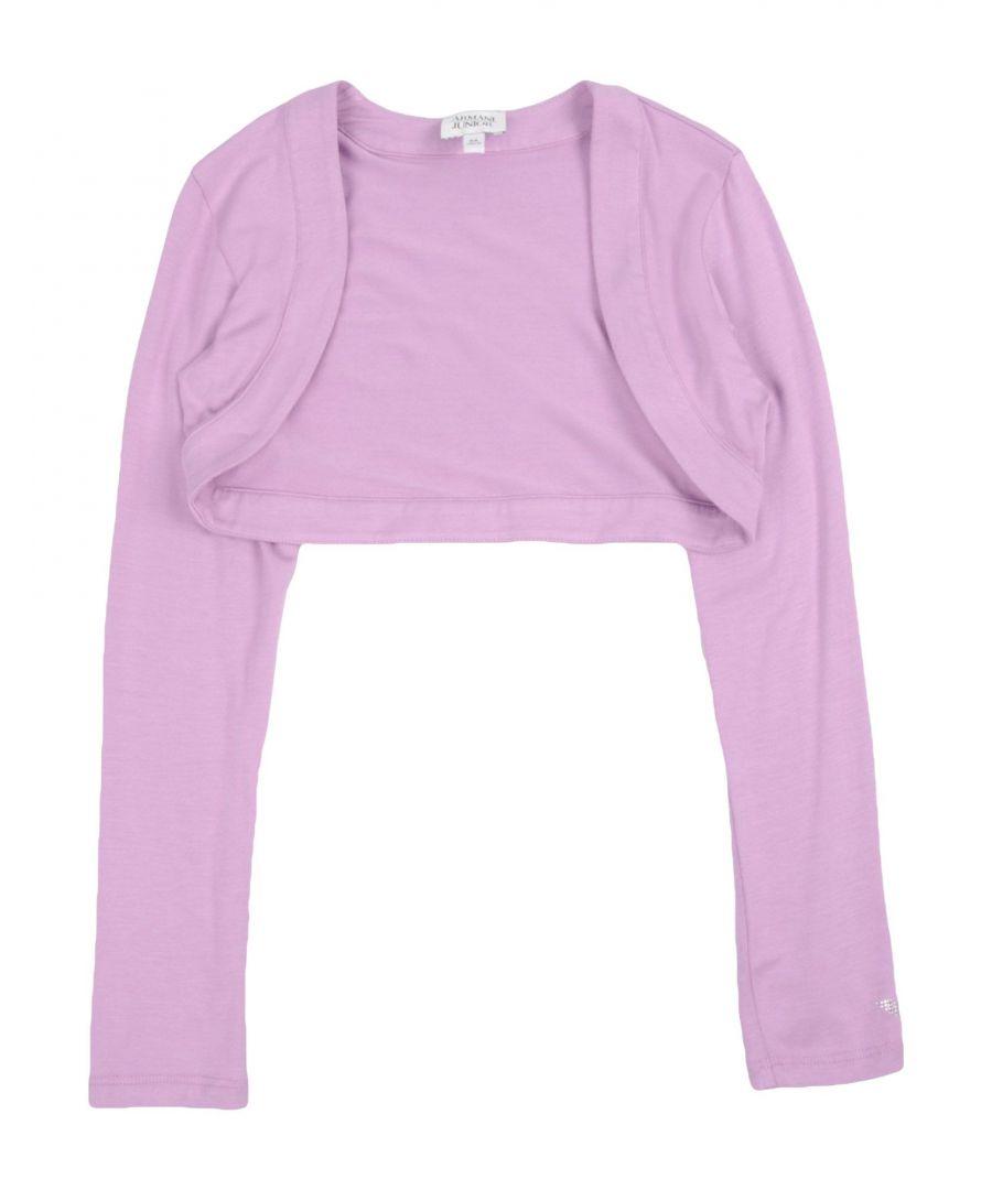 Image for Armani Junior Lilac Girls Cardigan