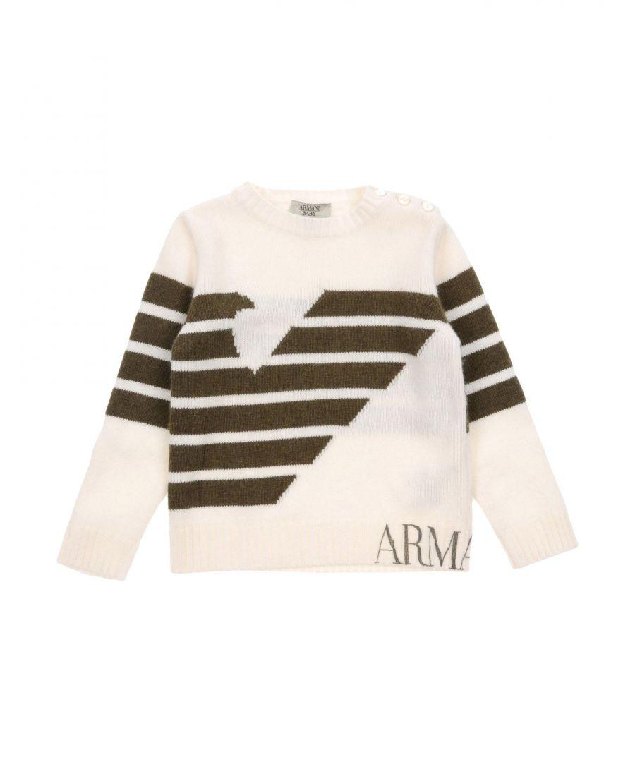 Image for KNITWEAR Armani Junior Ivory Boy Wool