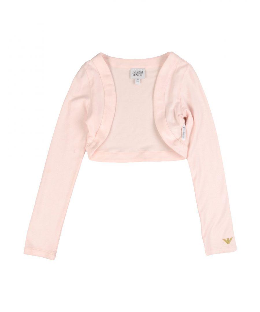 Image for Armani Junior Light Pink Cardigan
