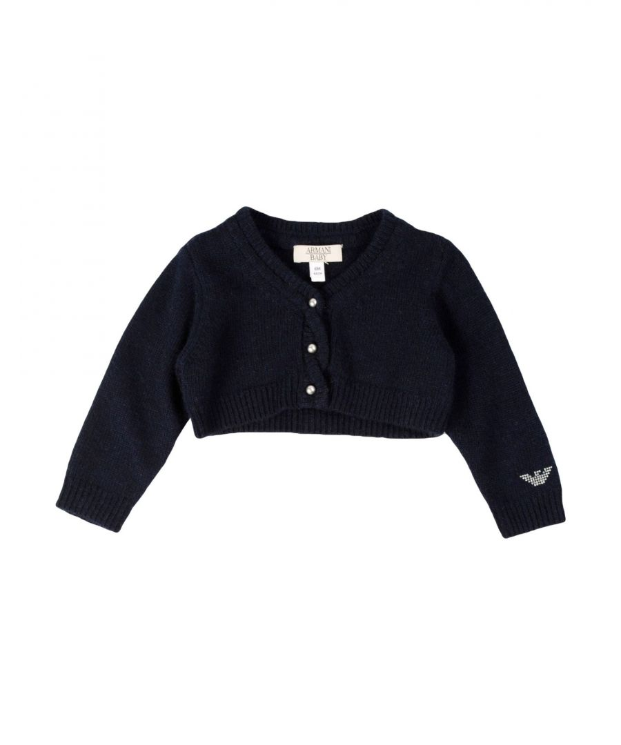 Image for KNITWEAR Armani Junior Dark blue Girl Viscose