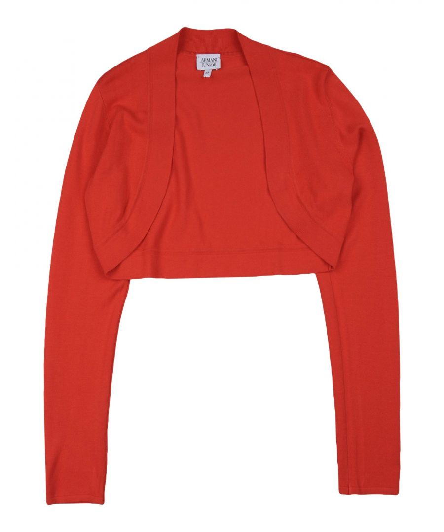 Image for KNITWEAR Armani Junior Red Girl Viscose
