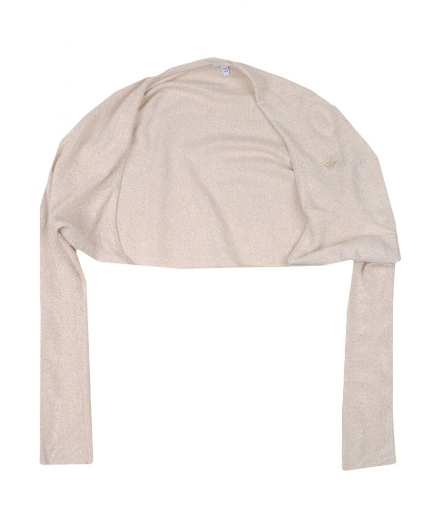 Image for KNITWEAR Armani Junior Beige Girl Viscose