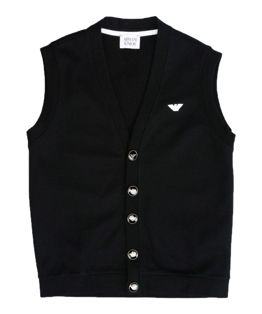 Image for KNITWEAR Armani Junior Black Boy Cotton