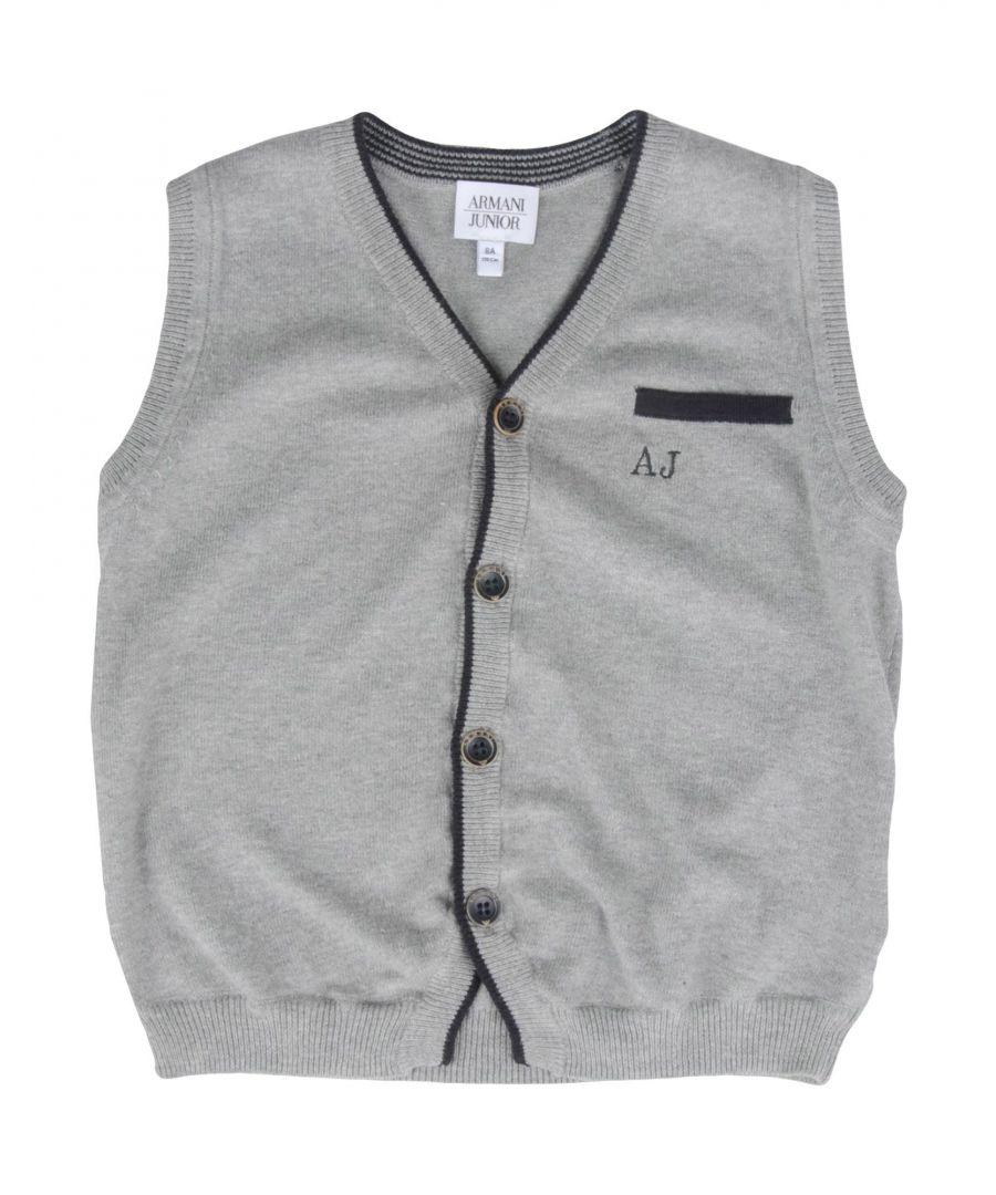 Image for KNITWEAR Armani Junior Light grey Boy Cotton
