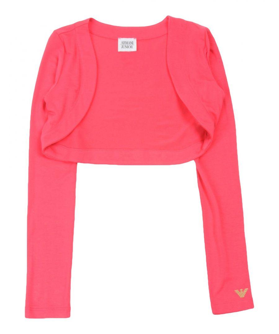 Image for Armani Junior Fuchsia Girls Cardigan