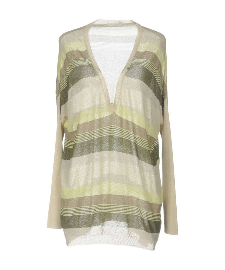 Image for Gas Light Green Stripe Lightweight Knit