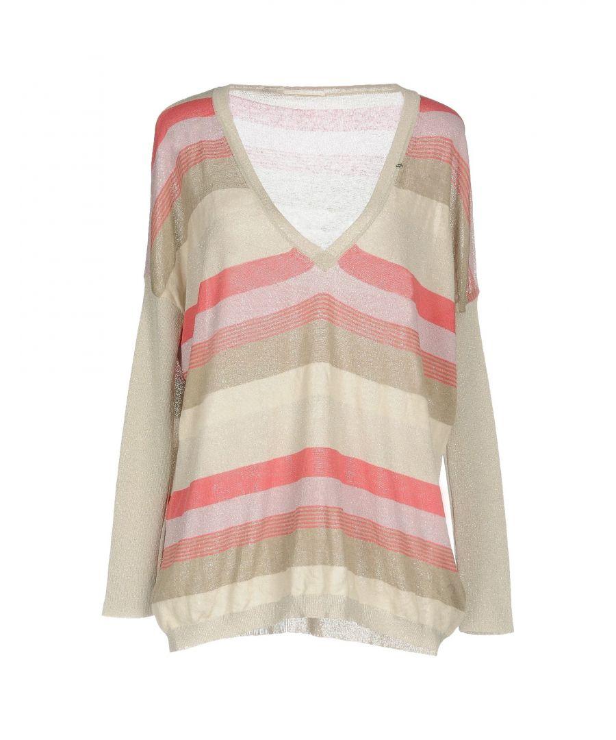 Image for Gas Light Grey Stripe Knit Jumper