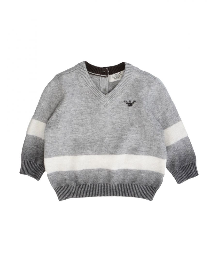 Image for KNITWEAR Armani Junior Grey Boy Cotton