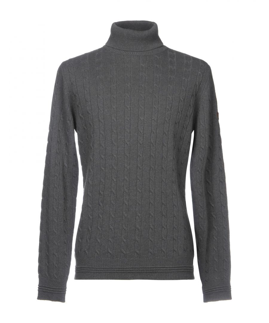 Image for Armani Jeans Lead Knit Roll Neck Jumper