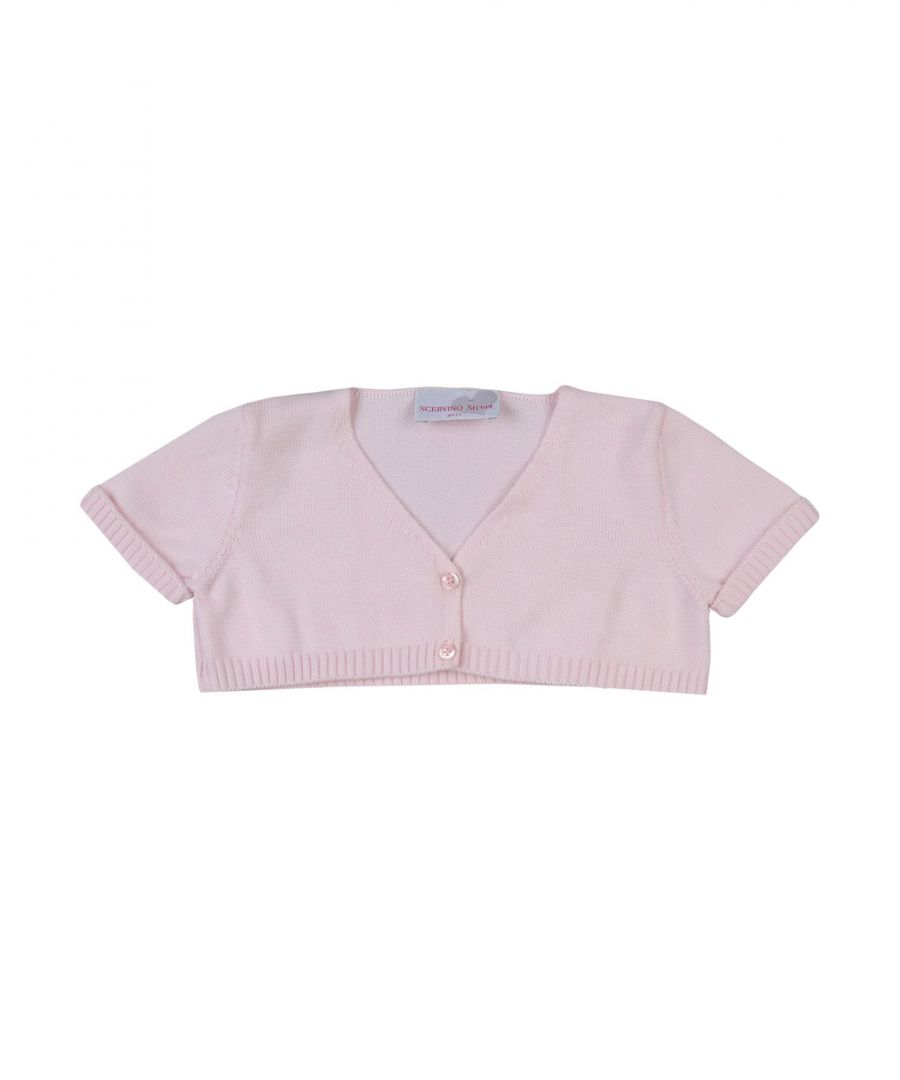 Image for KNITWEAR Scervino Street Girl Pink Girl Cotton