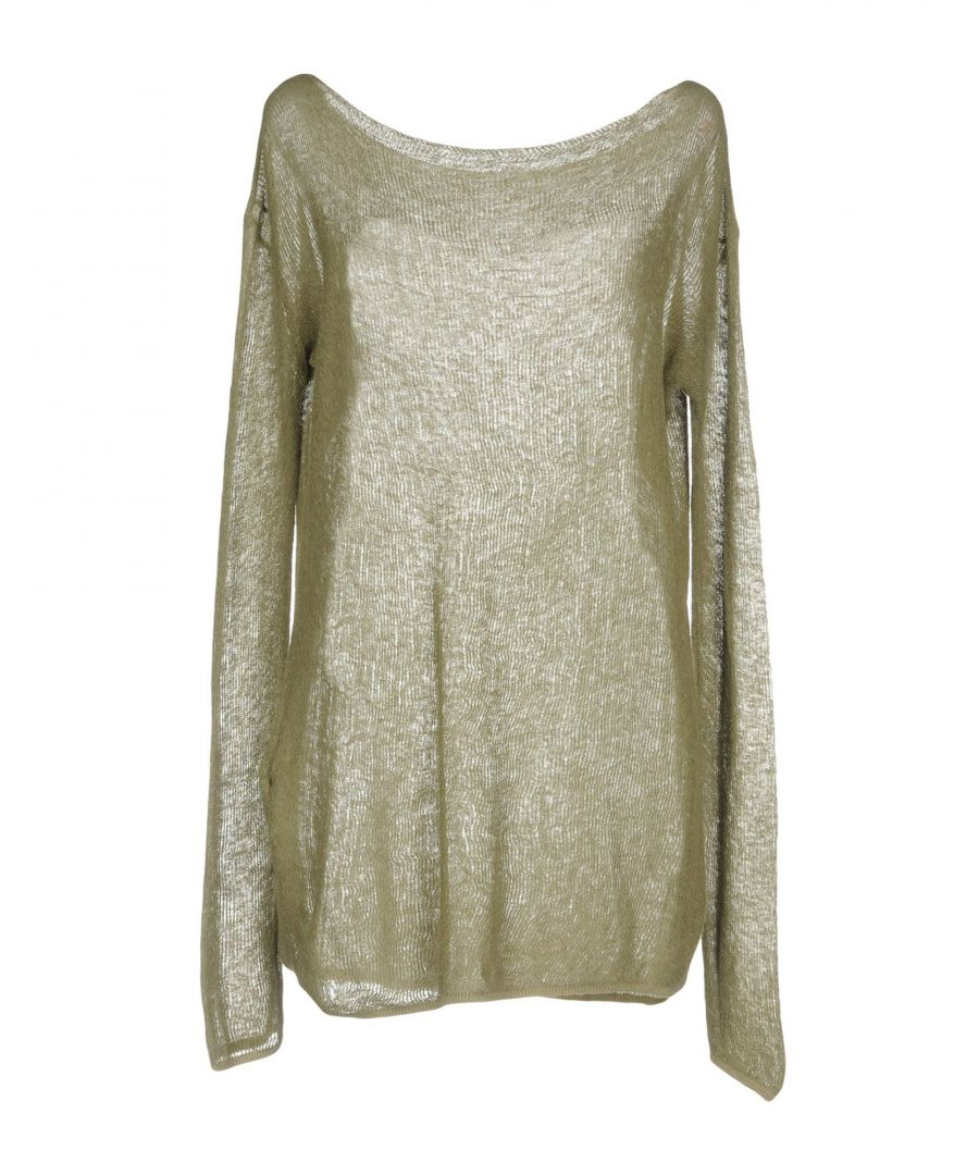 Image for Roberto Collina Military Green Lightweight Knit Jumper