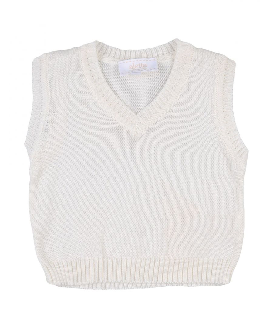 Image for KNITWEAR Aletta Ivory Boy Cotton