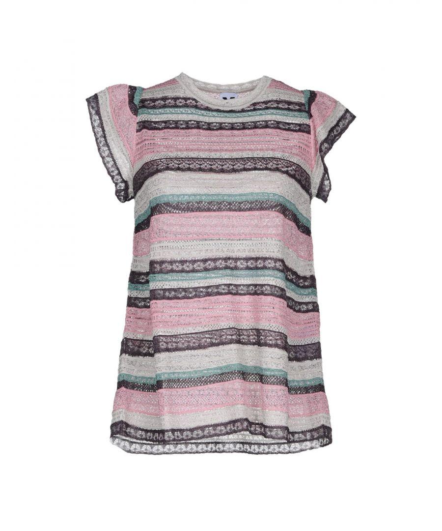 Image for M Missoni Pink Stripe Knit