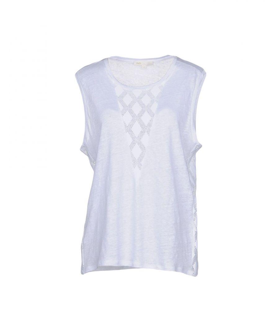 Image for KNITWEAR Maje White Woman Linen