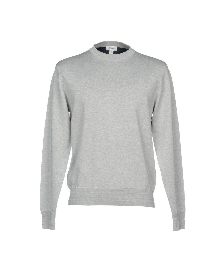 Image for Brioni Grey Cotton Sweatshirt