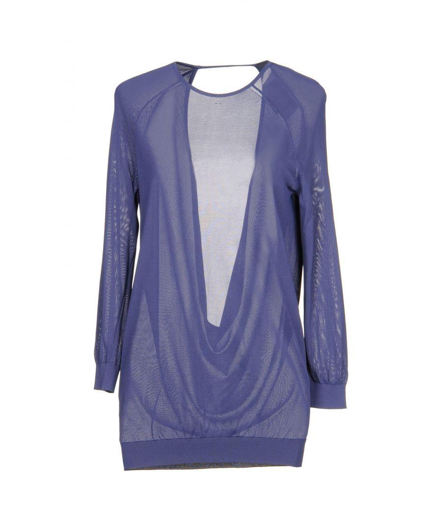 Image for Halston Purple Lightweight Knit