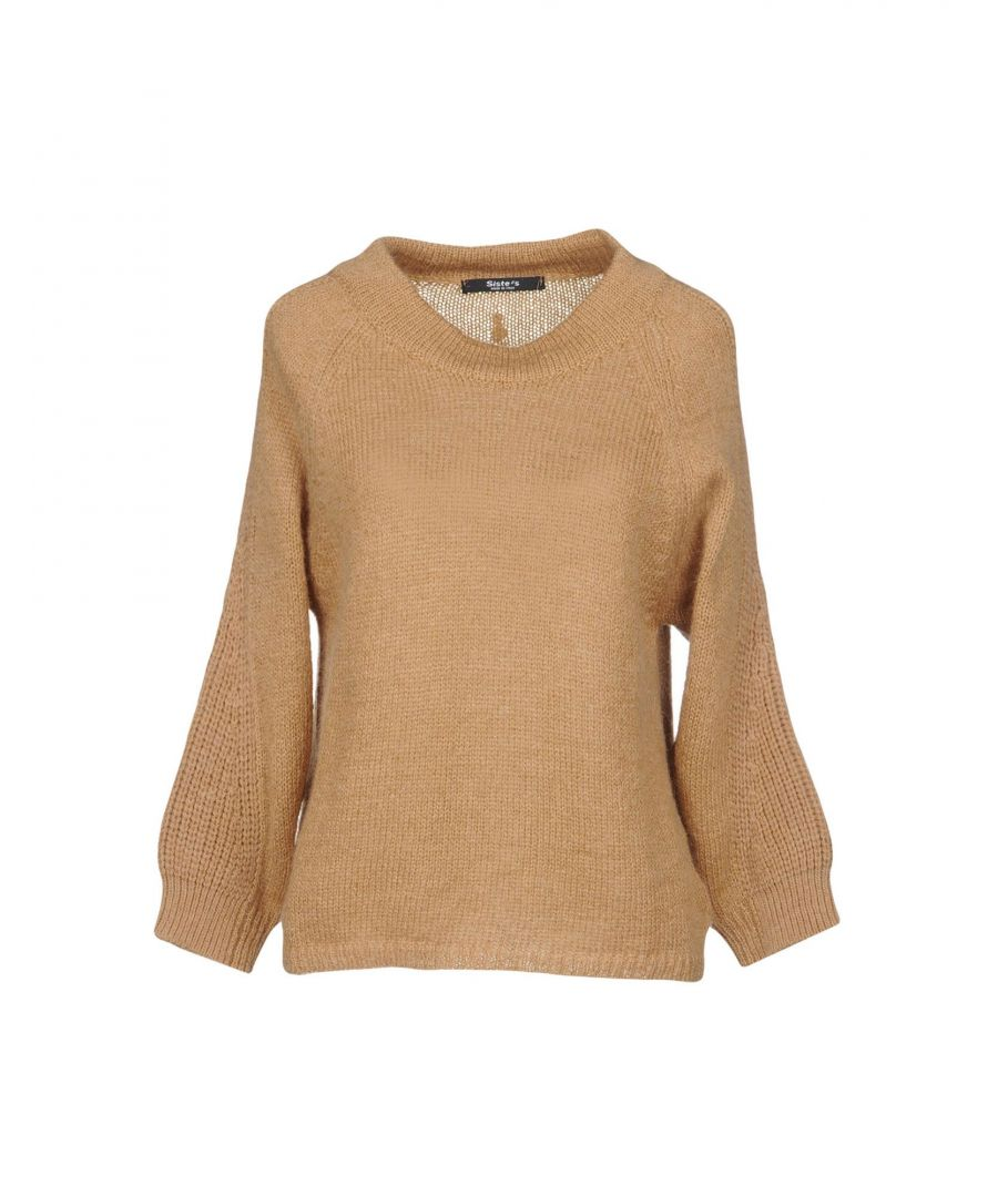 Image for KNITWEAR Siste' S Camel Woman Acrilyc