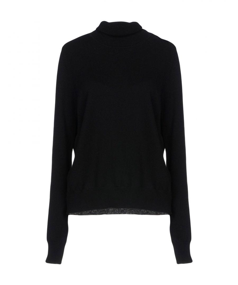 Image for MM6 Maison Margiela Black Wool Jumper