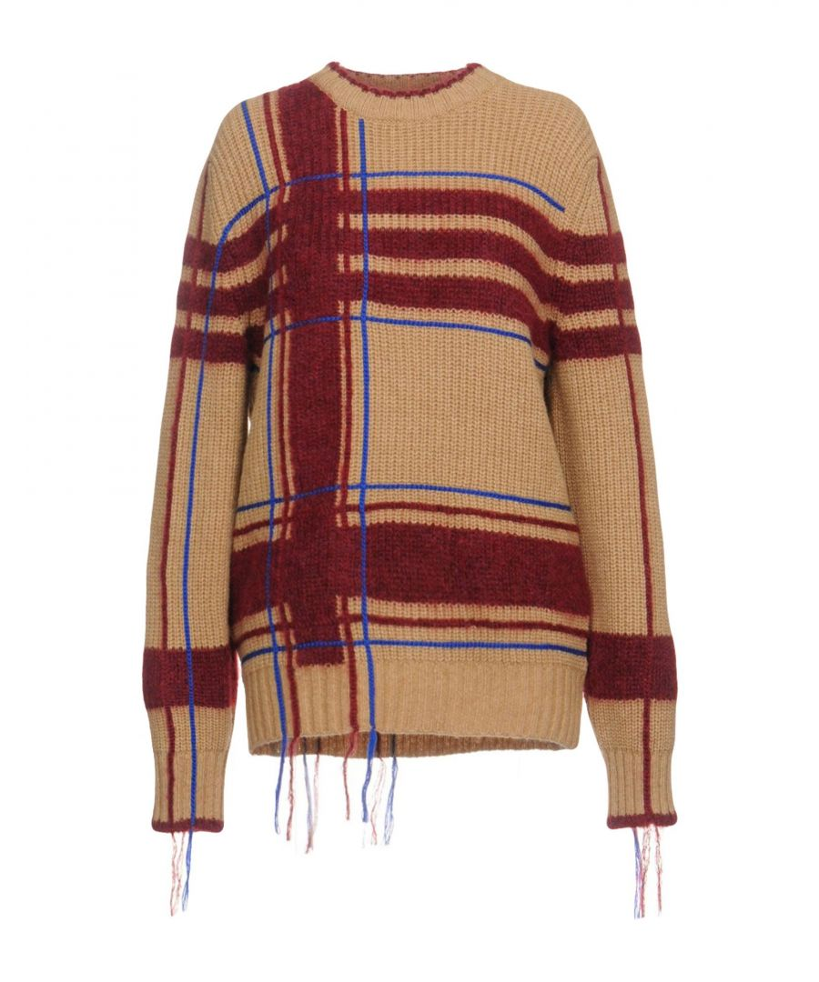 Image for Tory Burch Sand Wool Jumper