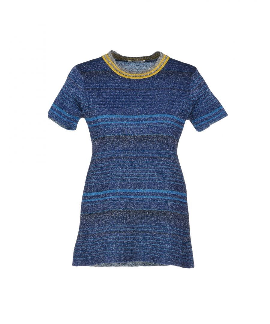 Image for Anais Jourden Dark Blue Knit T-Shirt