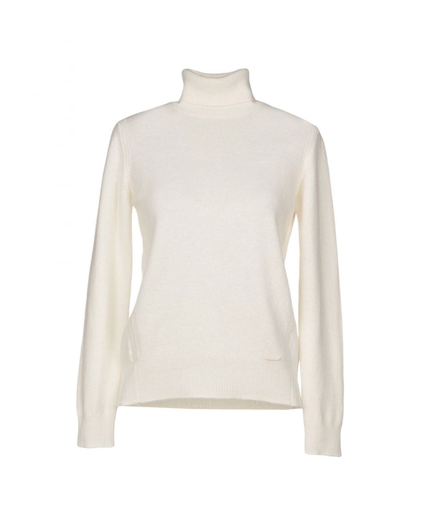 Image for Nenette Woman Turtlenecks Ivory Wool