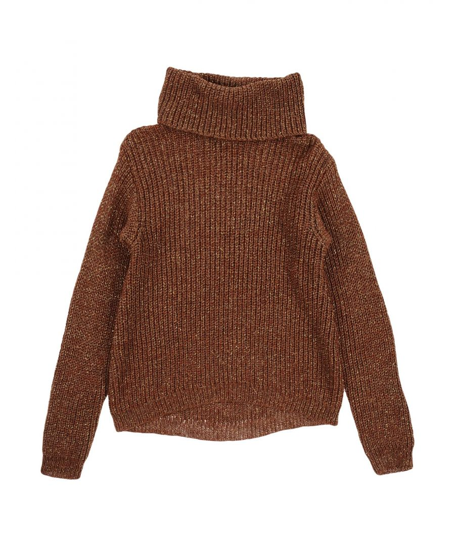 Image for KNITWEAR Girl Jijil Jolie Brown Wool