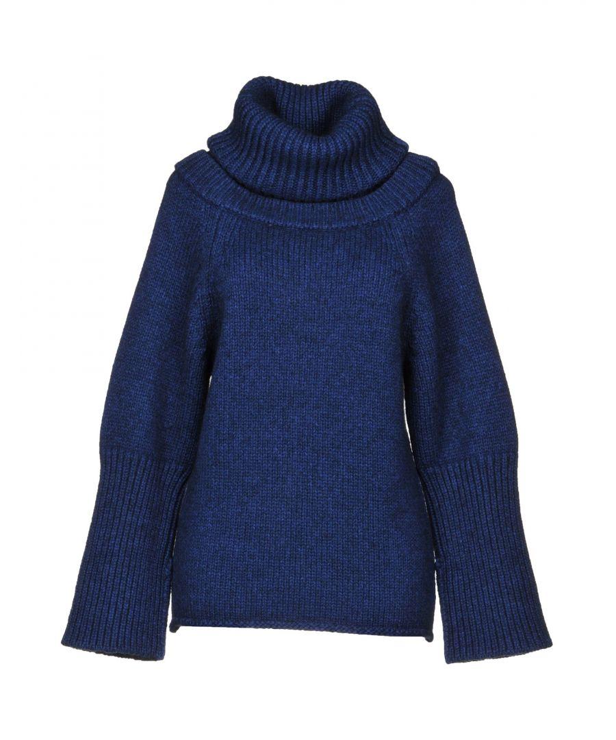 Image for JW Anderson Blue Virgin Wool Jumper