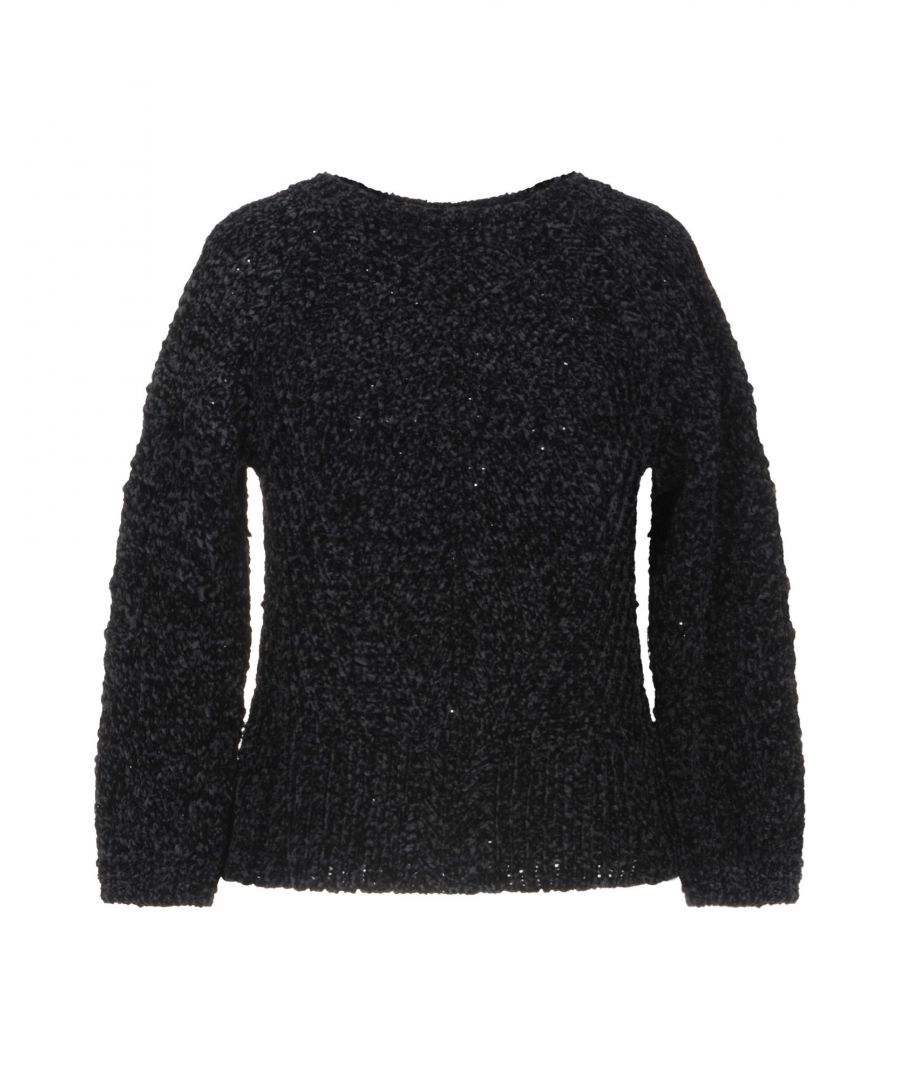 Image for Kaos Black Knit Jumper