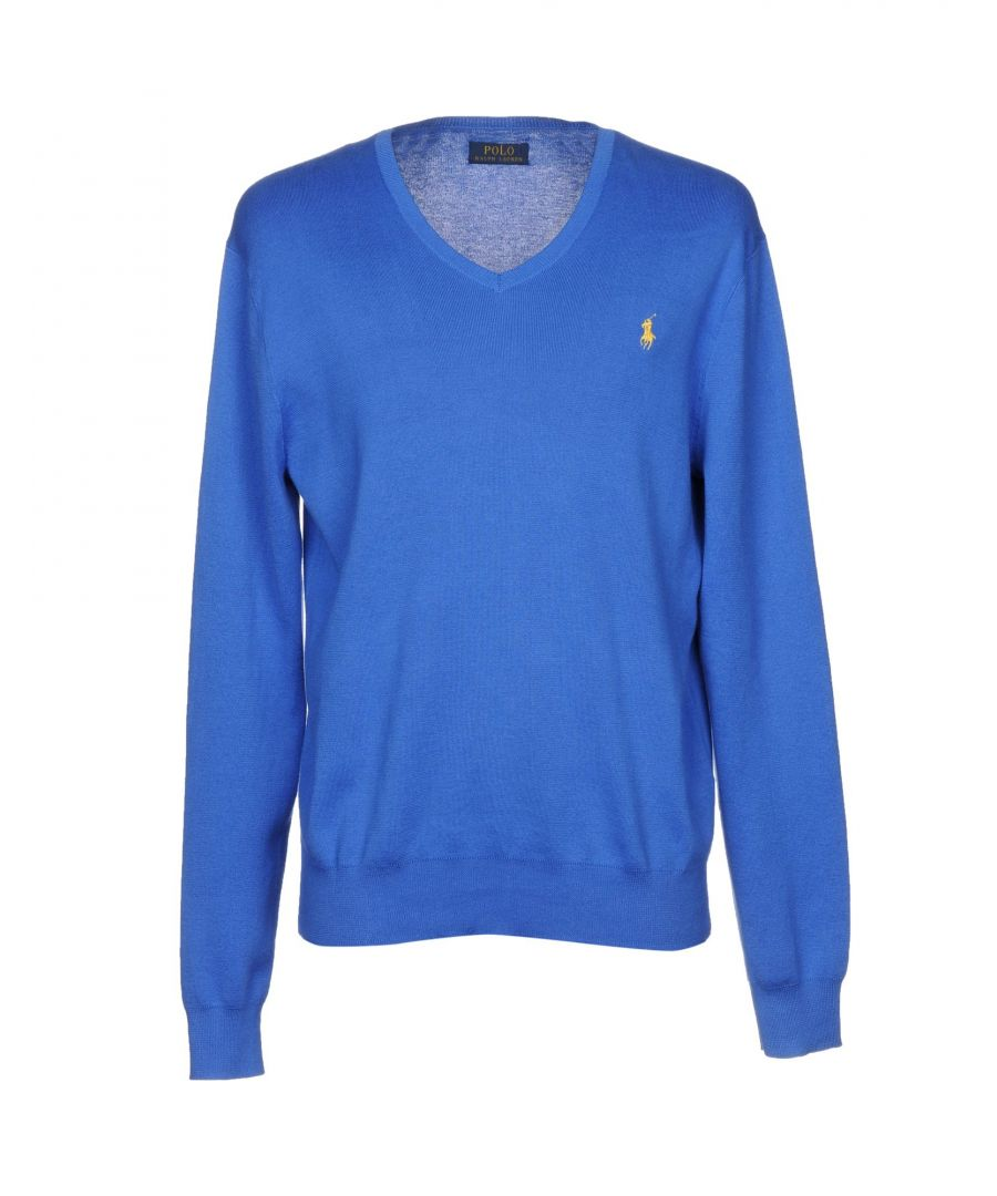 Image for Polo Ralph Lauren Bright Blue Knit Jumper