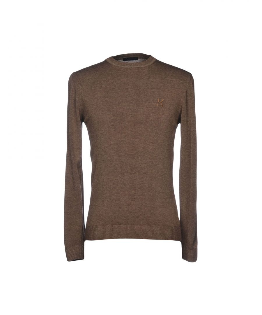 Image for Karl Lagerfeld Cocoa Wool Knit Jumper